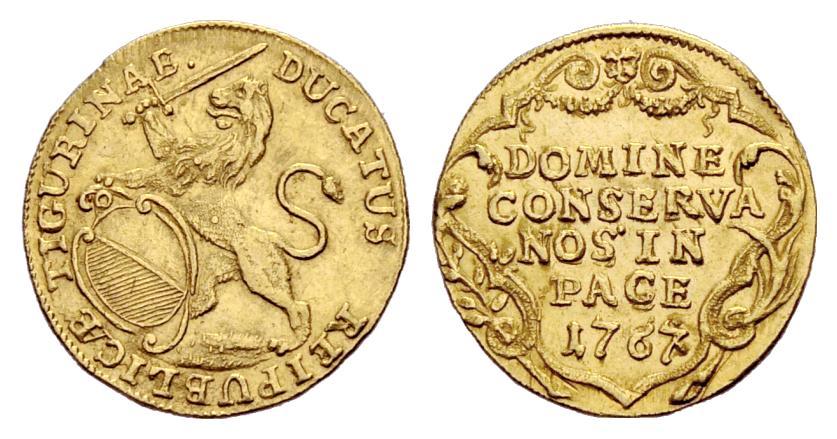 CH 1 Dukat 1767