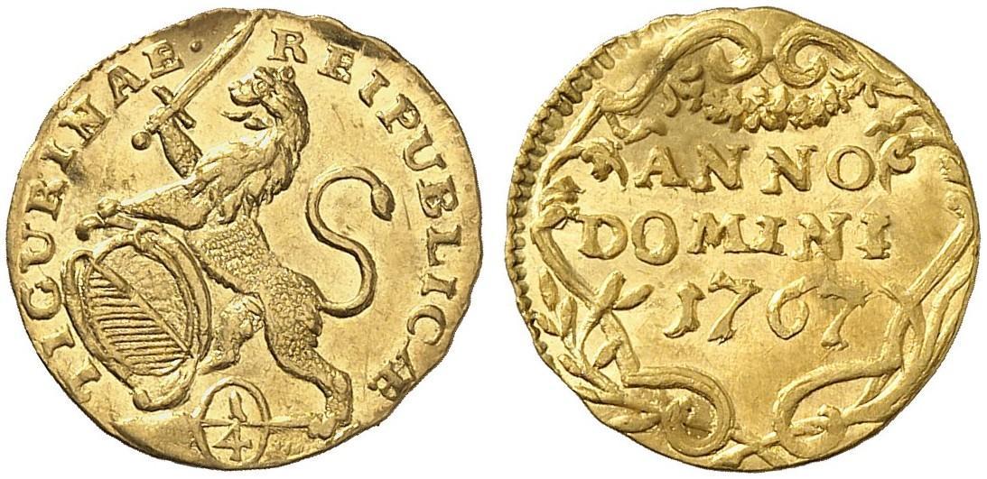 CH 1/4 Dukat - Vierteldukat 1767