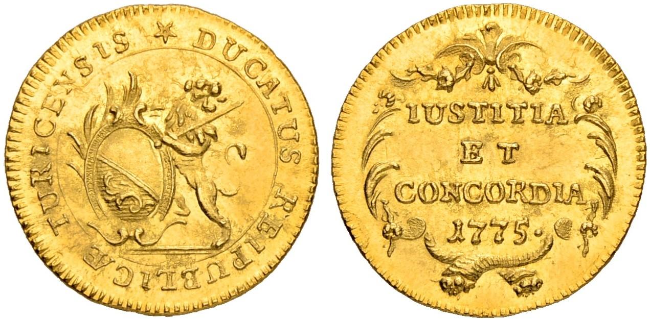 CH 1 Dukat 1775