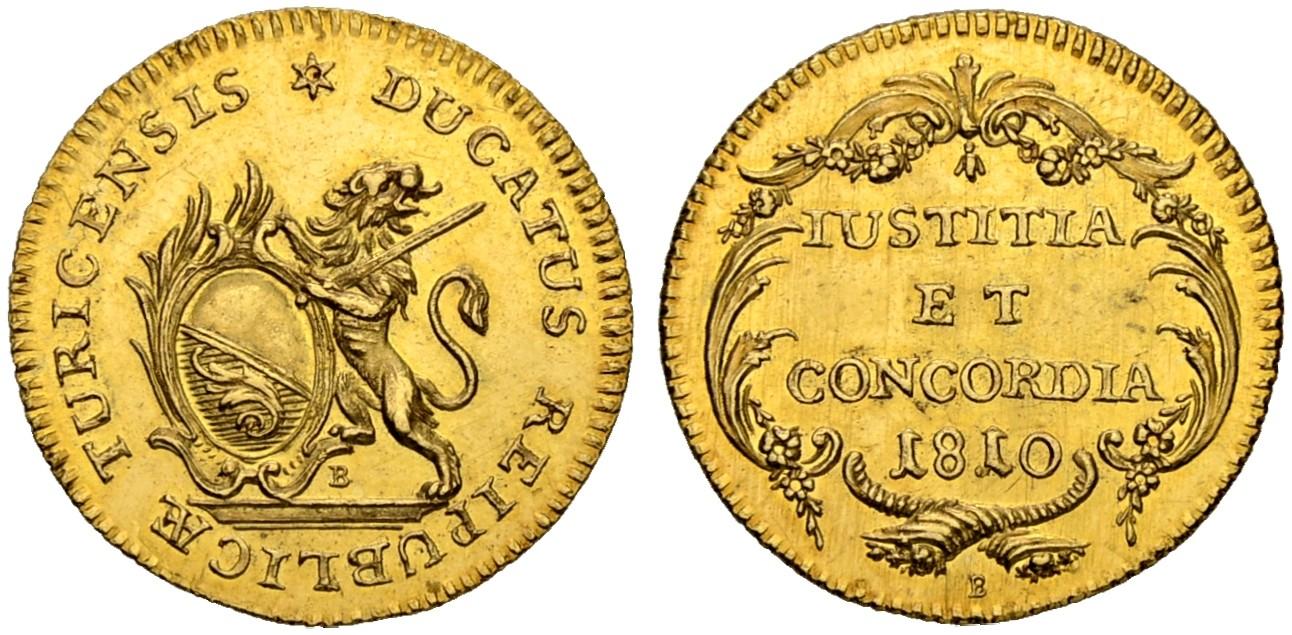 CH 1 Dukat 1810