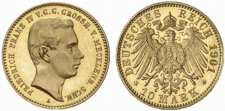 DE 10 Mark 1901 A