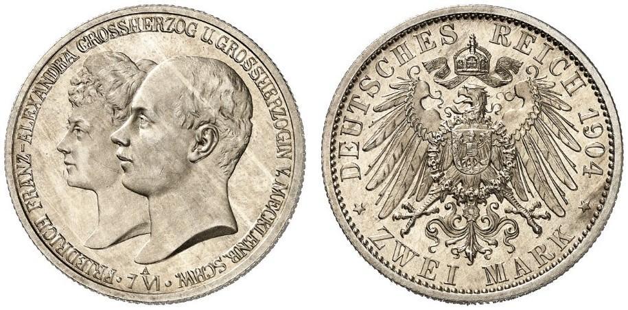DE 2 Mark 1904 A