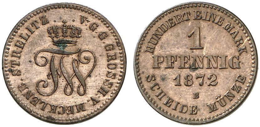 DE 1 Pfennig 1872