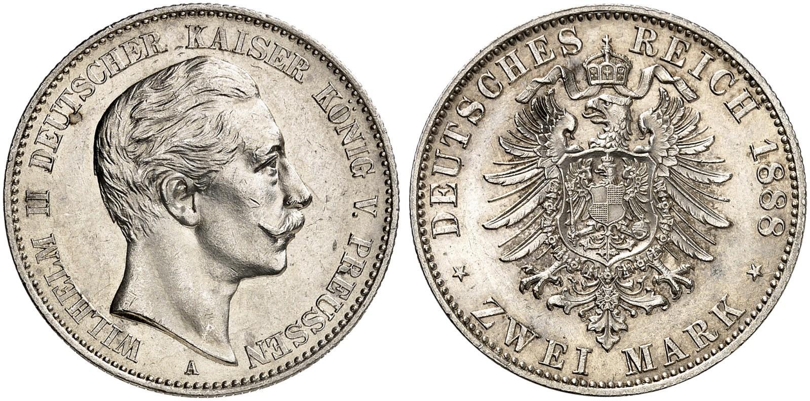 DE 2 Mark 1888 A