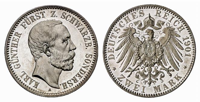 DE 2 Mark 1901 A