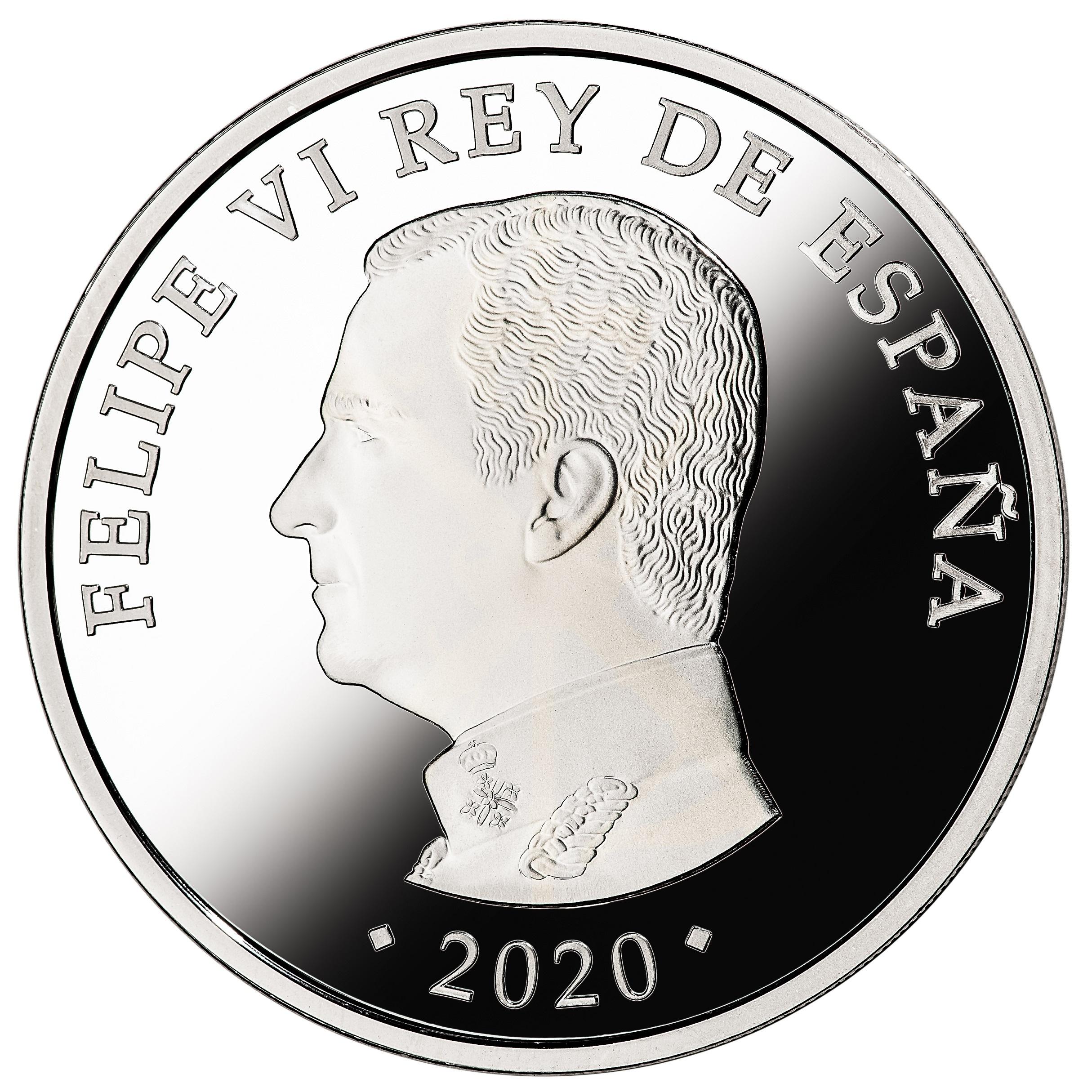 ES 10 Euro 2020 Real Casa de la Moneda logo