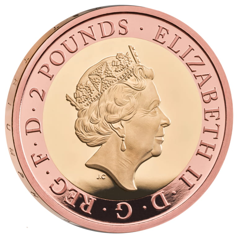 GB 2 Pounds 2020
