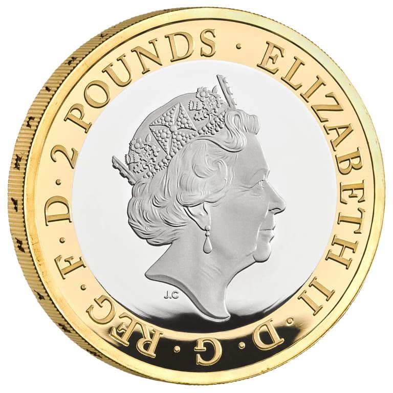 GB 2 Pounds 2020