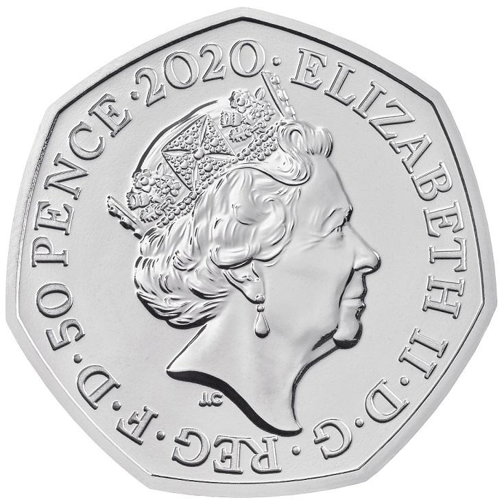 GB 50 Pence 2020