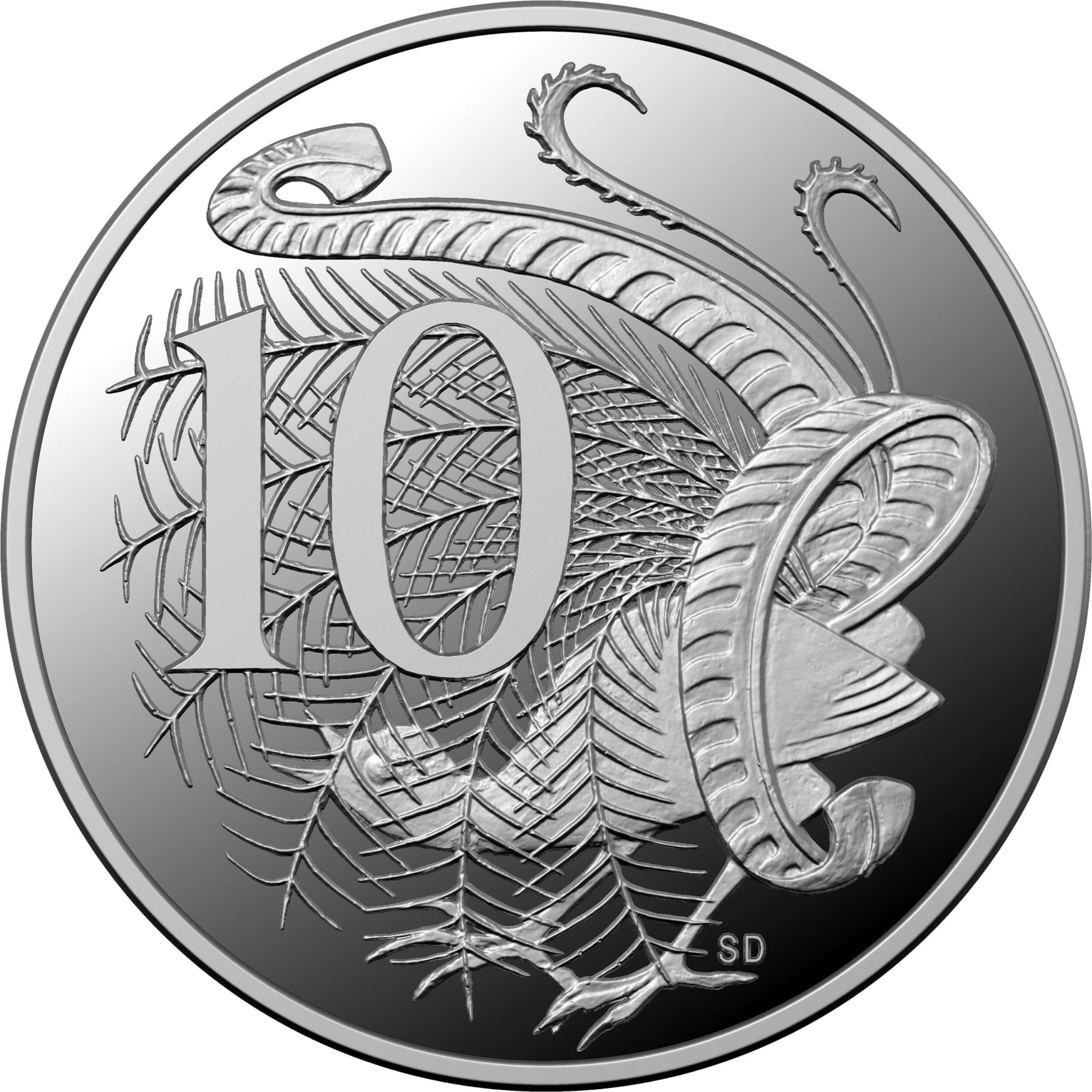 AU 10 Cents 2020