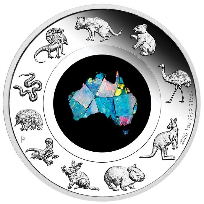 AU 1 Dollar 2020 P