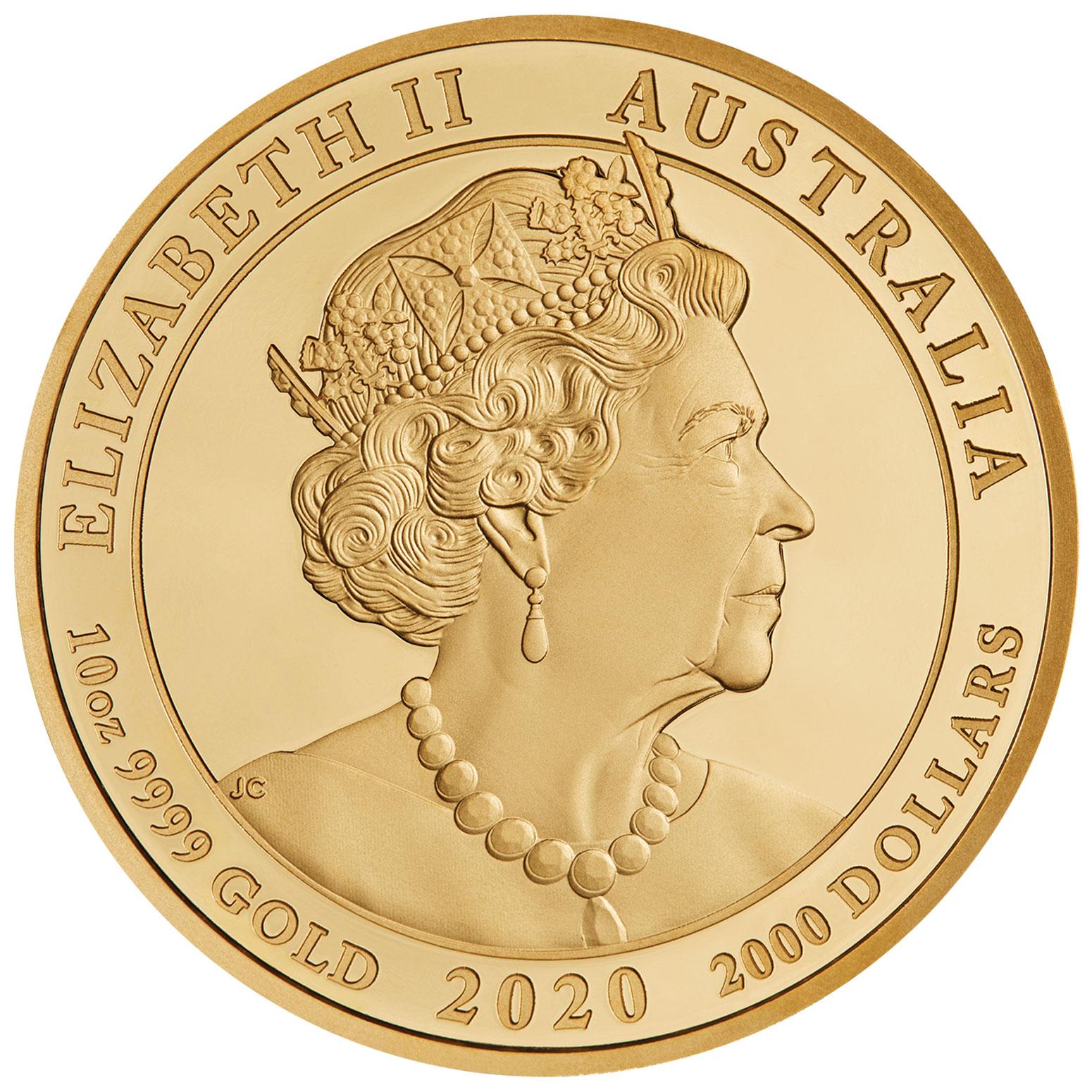 AU 2000 Dollars 2020 P