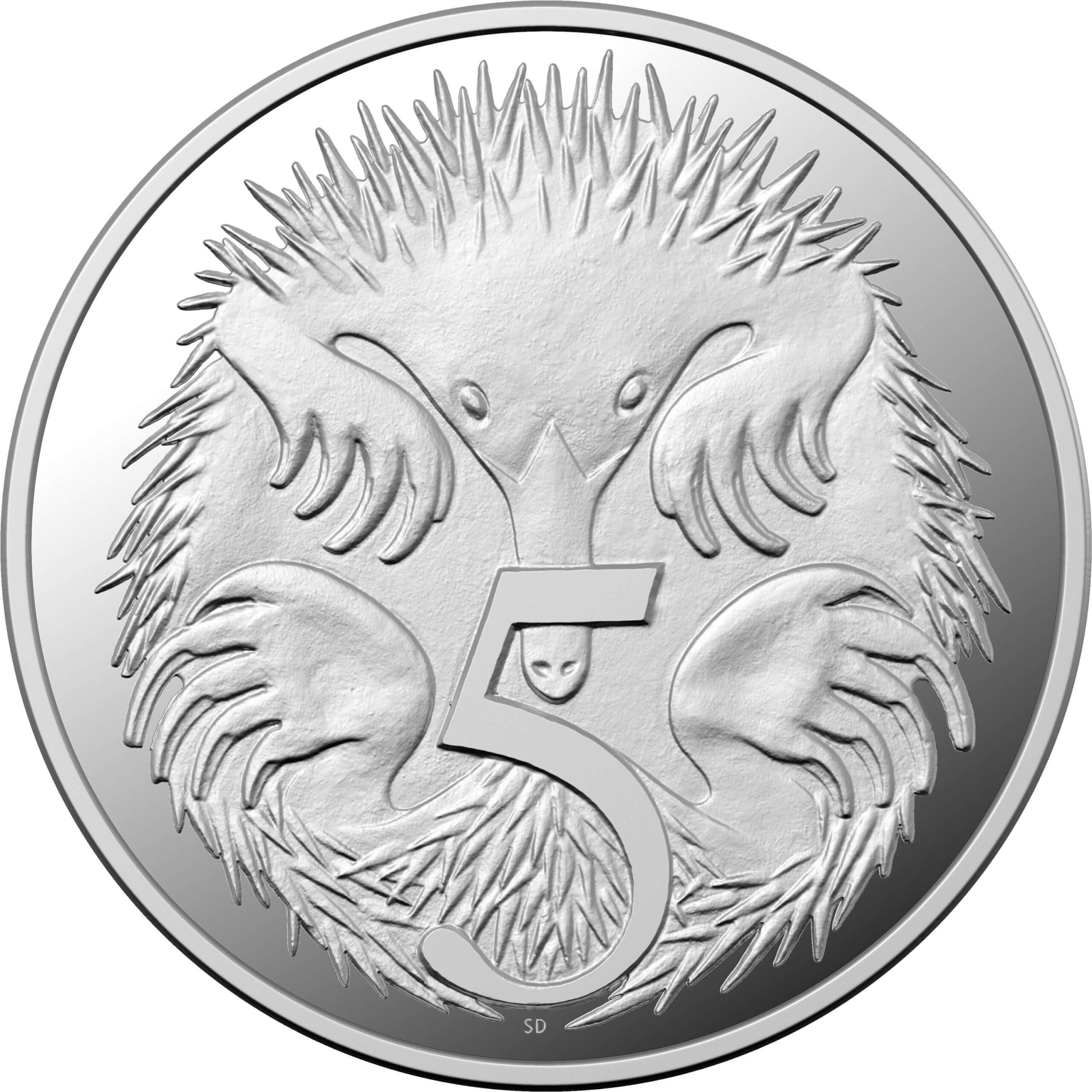AU 5 Cents 2020