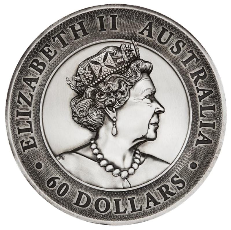 AU 60 Dollars 2020 P