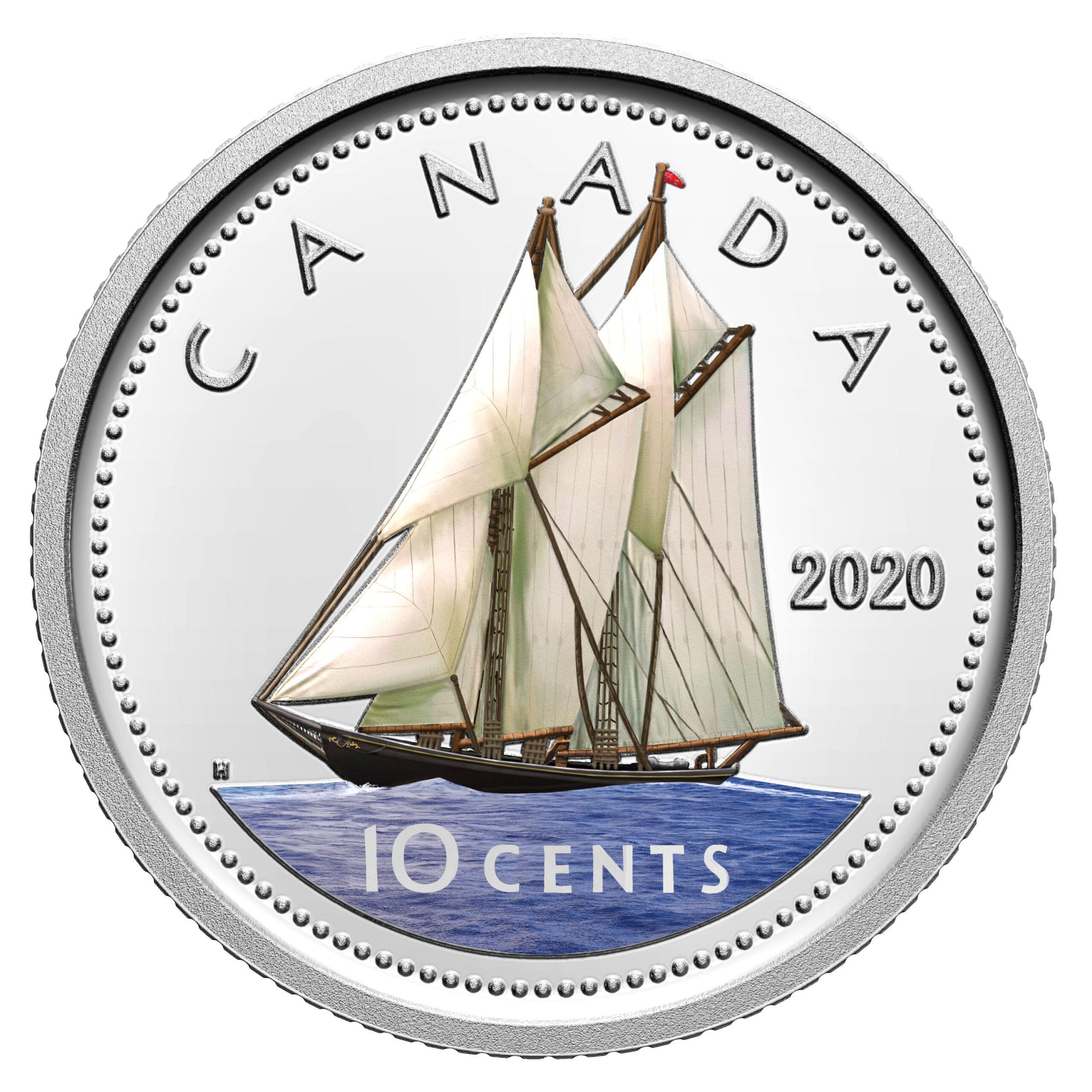 CA 10 Cents 2020