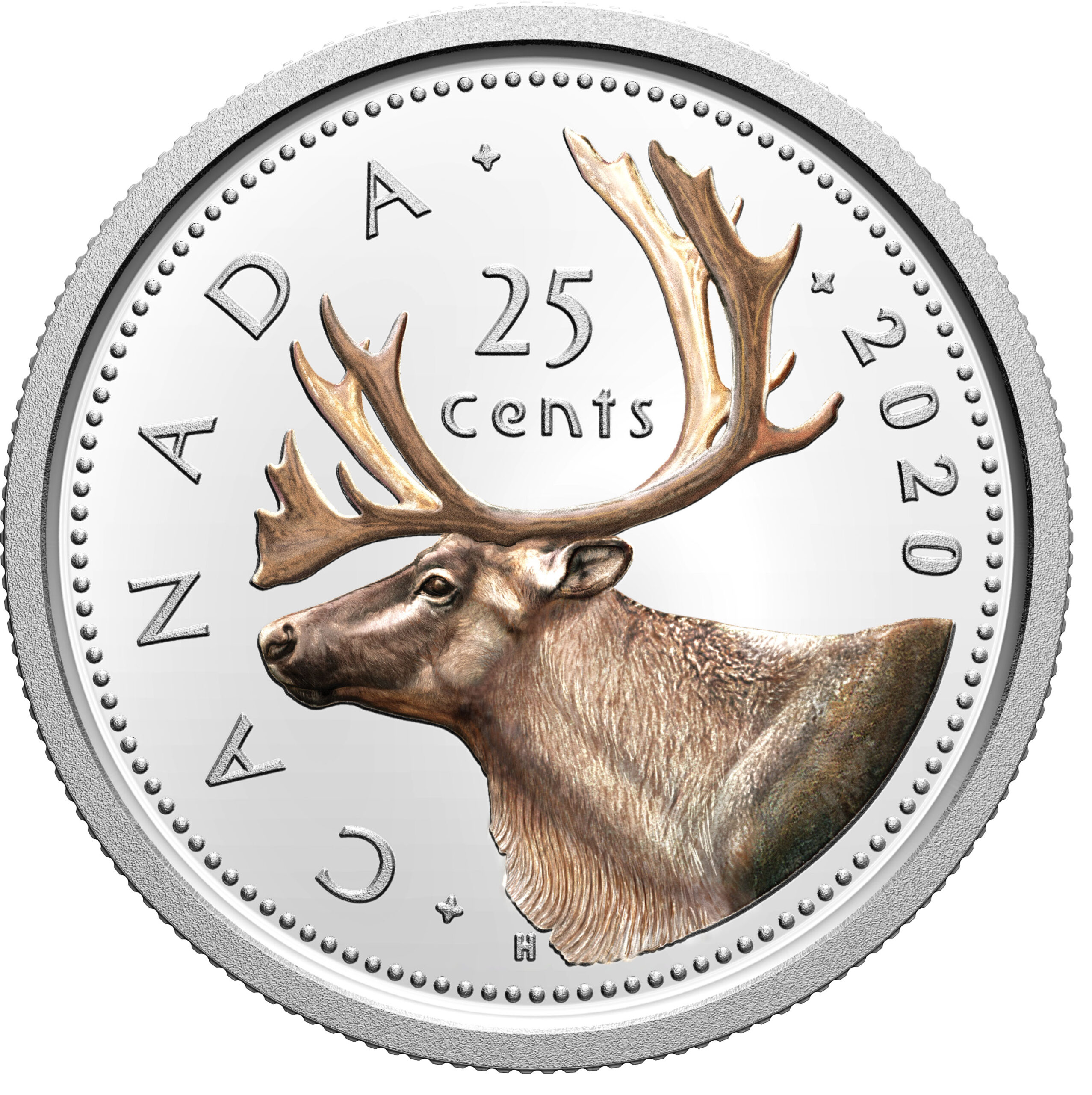 CA 25 Cents 2020