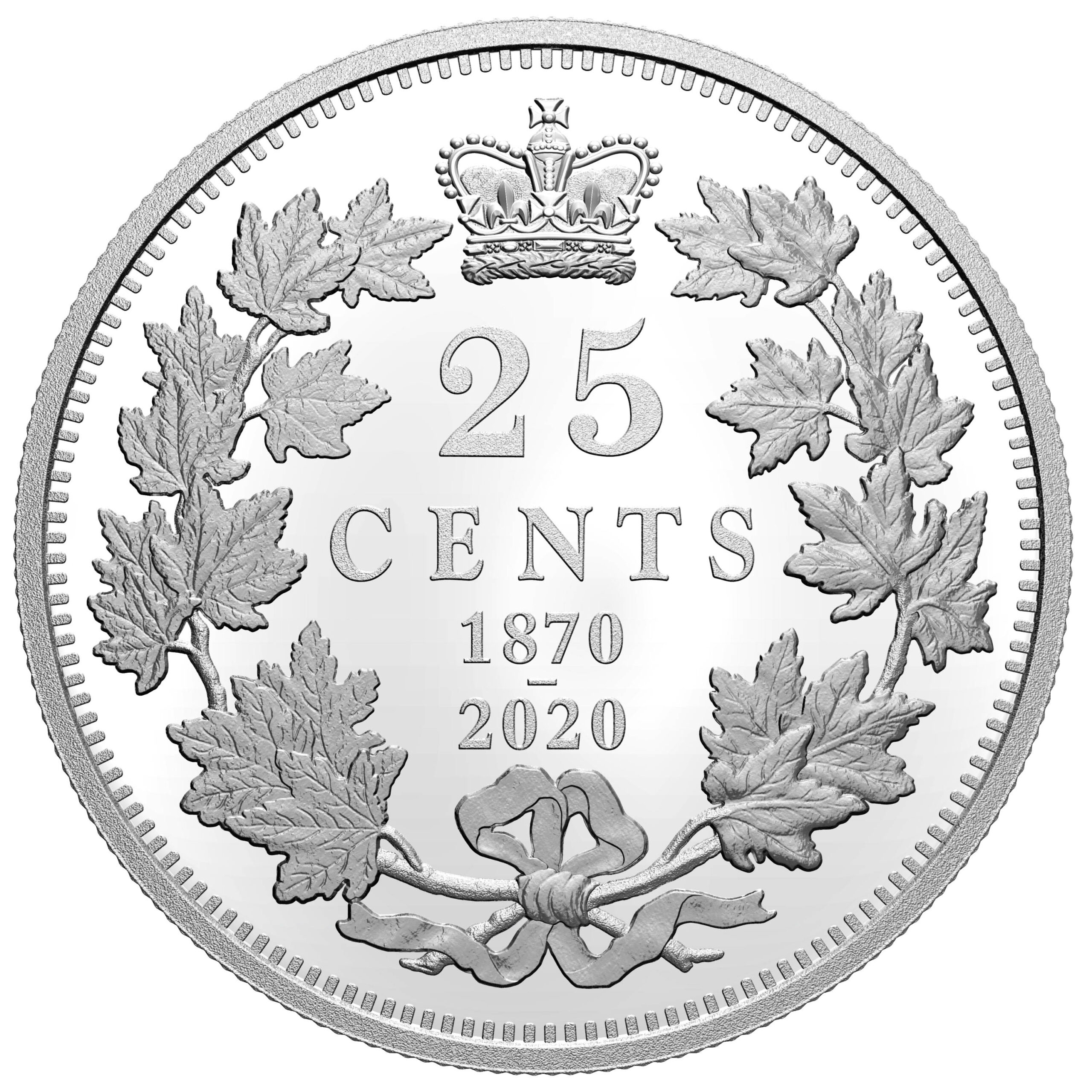 CA 25 Cents 2020