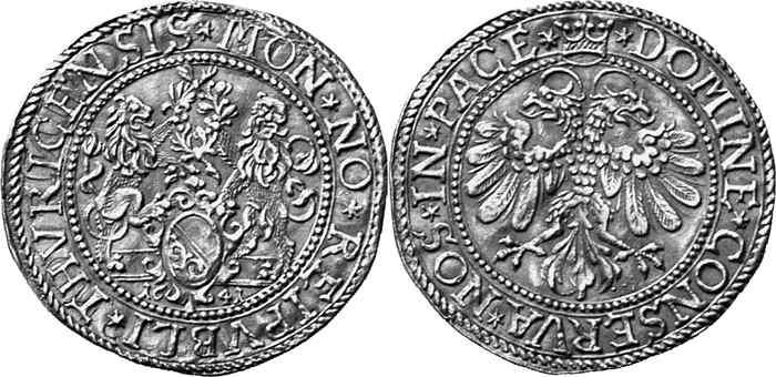 CH 2 Dukaten - Doppeldukat 1641