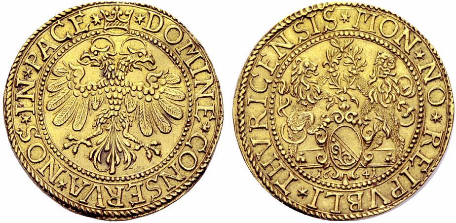 CH 4 Dukaten - Vierfachdukat 1641