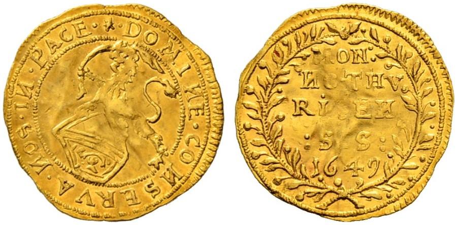CH 1/4 Dukat - Vierteldukat 1649