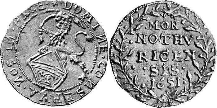 CH 1/4 Dukat - Vierteldukat 1651