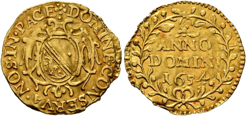 CH 1/4 Dukat - Vierteldukat 1654