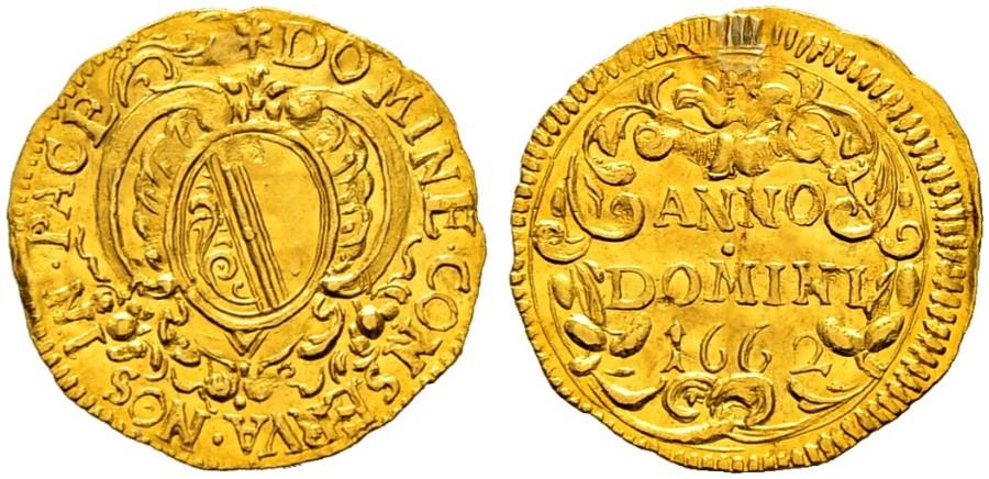 CH 1/4 Dukat - Vierteldukat 1662