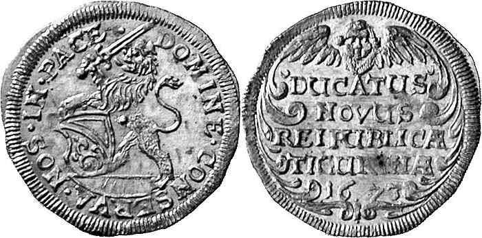 CH 1 Dukat 1673
