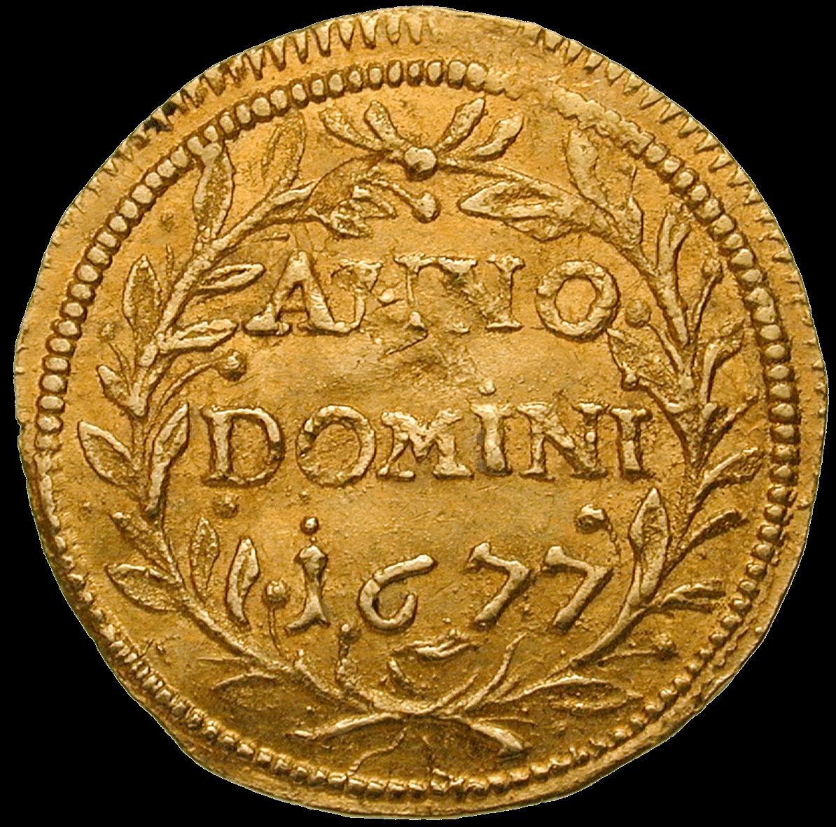 CH 1/4 Dukat - Vierteldukat 1677