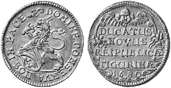 CH 1 Dukat 1680