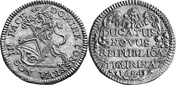 CH 1 Dukat 1684