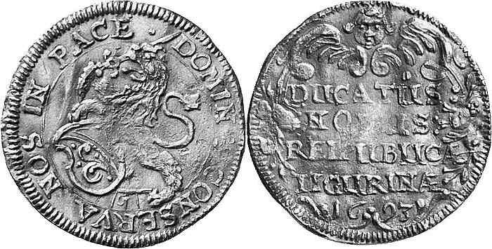 CH 1 Dukat 1693