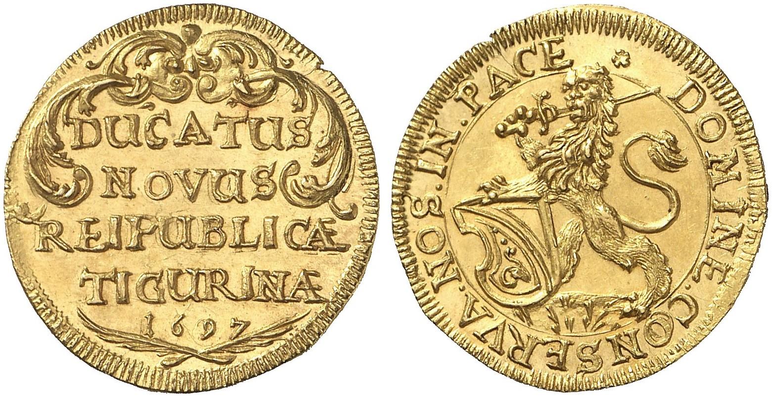 CH 1 Dukat 1697
