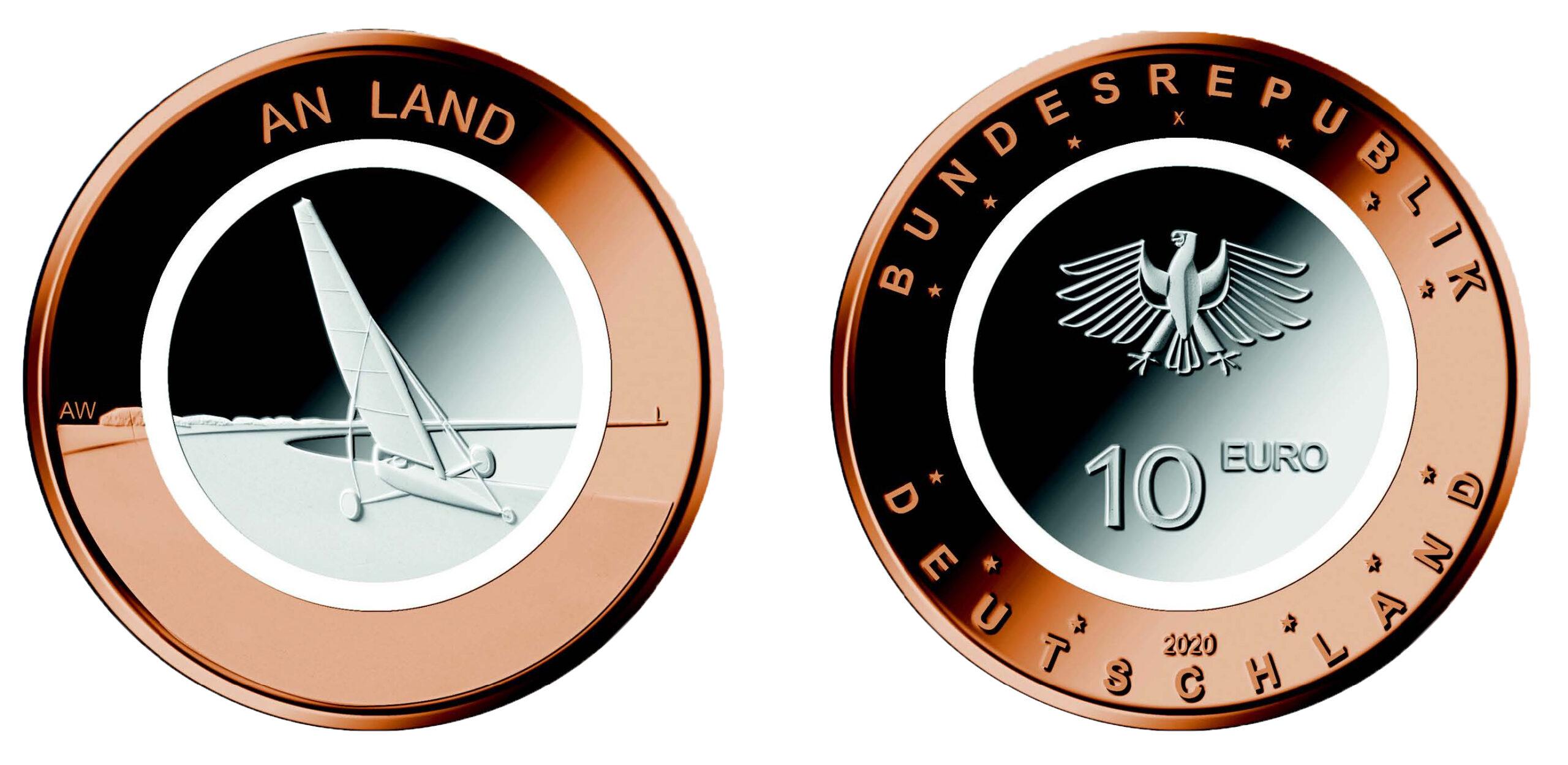 DE 10 Euro 2020 F