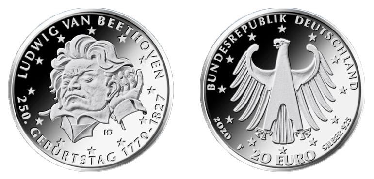 DE 20 Euro 2020 F