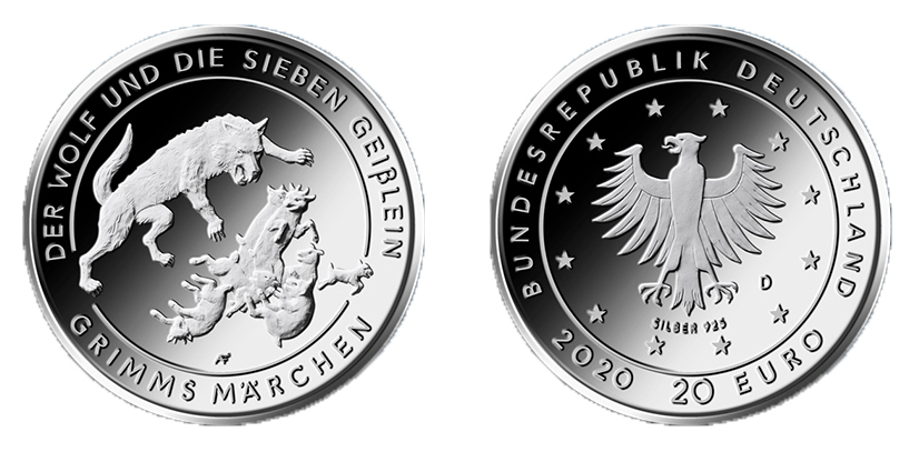 DE 20 Euro 2020 D