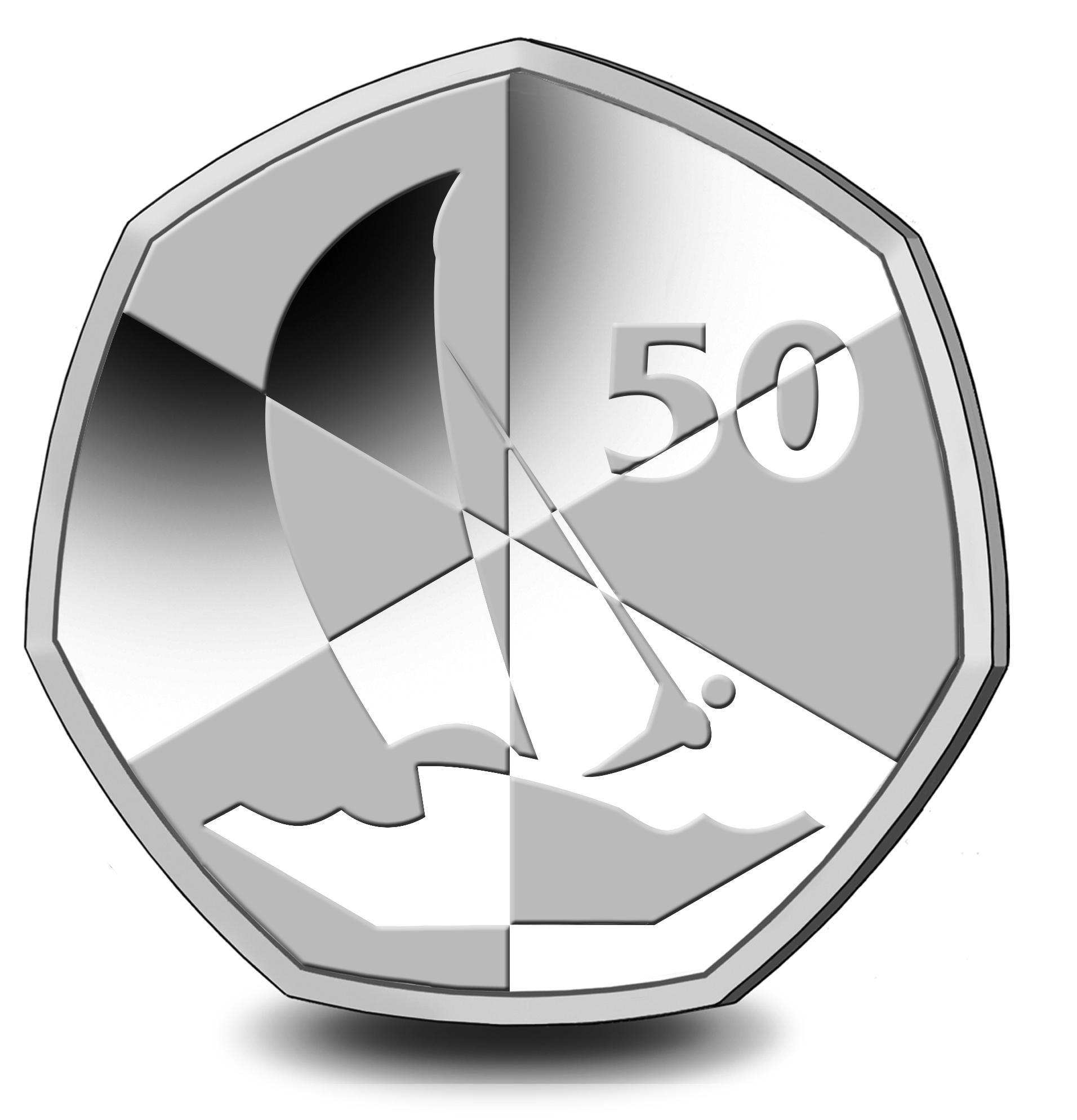GI 50 Pence 2019 PM