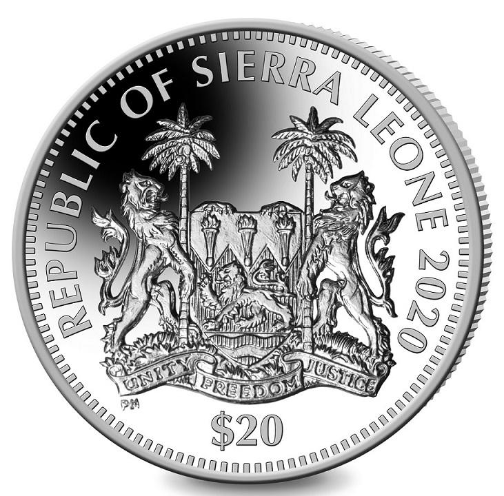 SL 20 Dollars 2020 PM