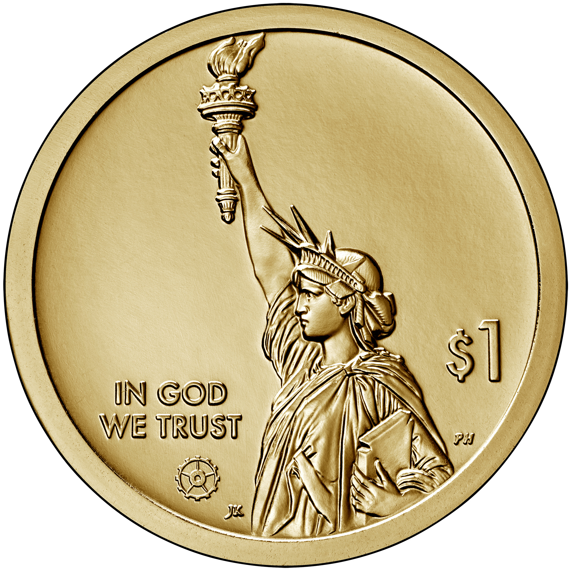 US 1 Dollar 2020 D
