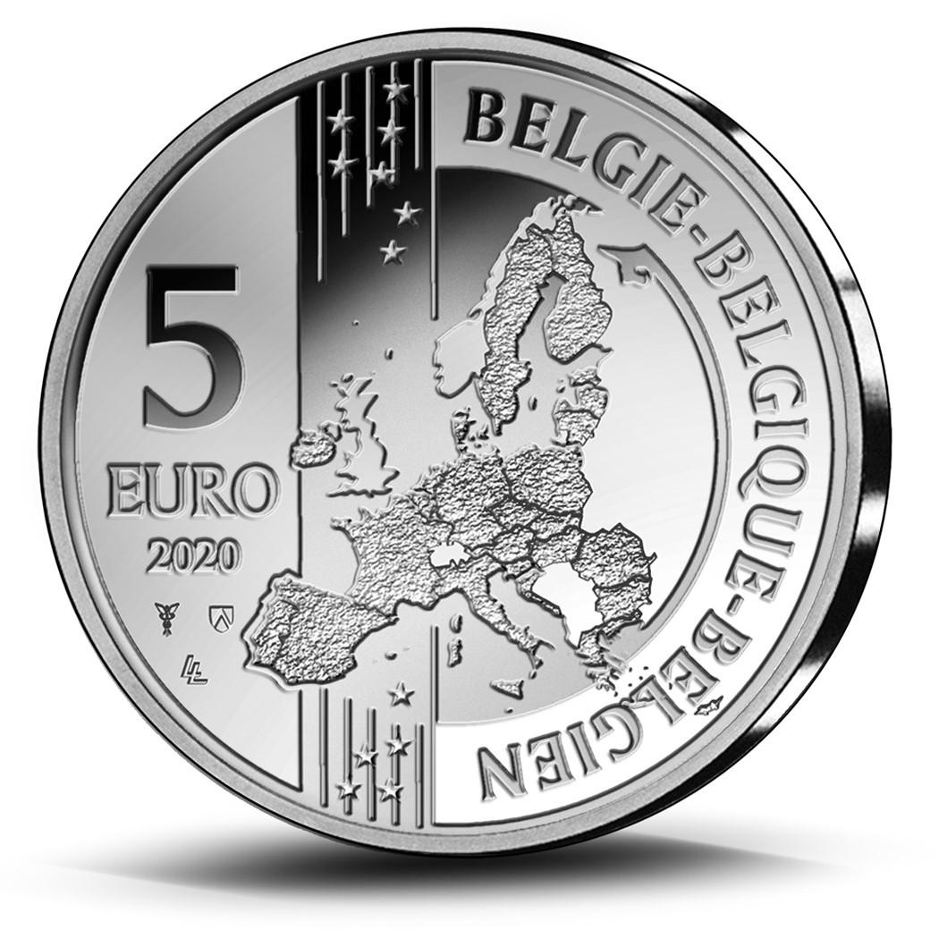 BE 5 Euro 2020 Staff of Mercury