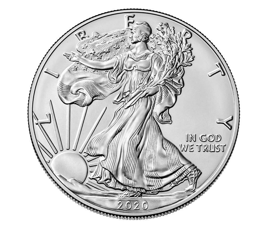 US 1 Dollar 2020 W
