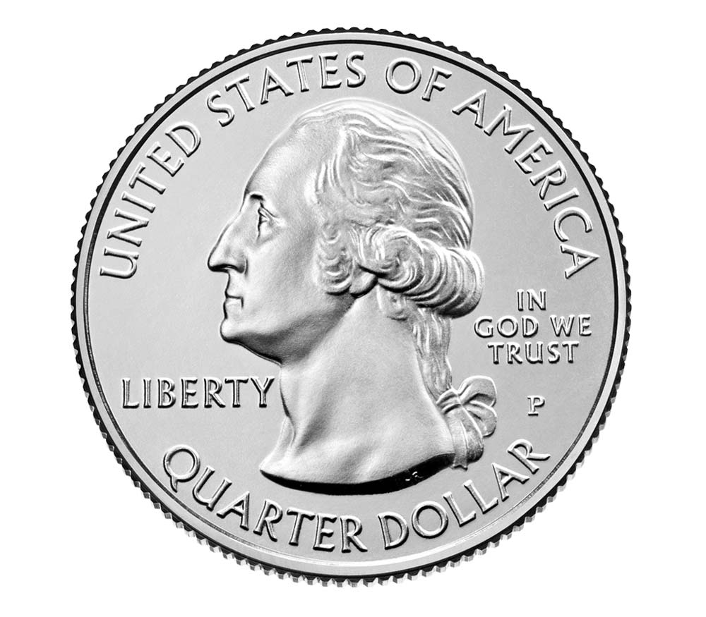 US 1/4 Dollar - Quarter 2020 P
