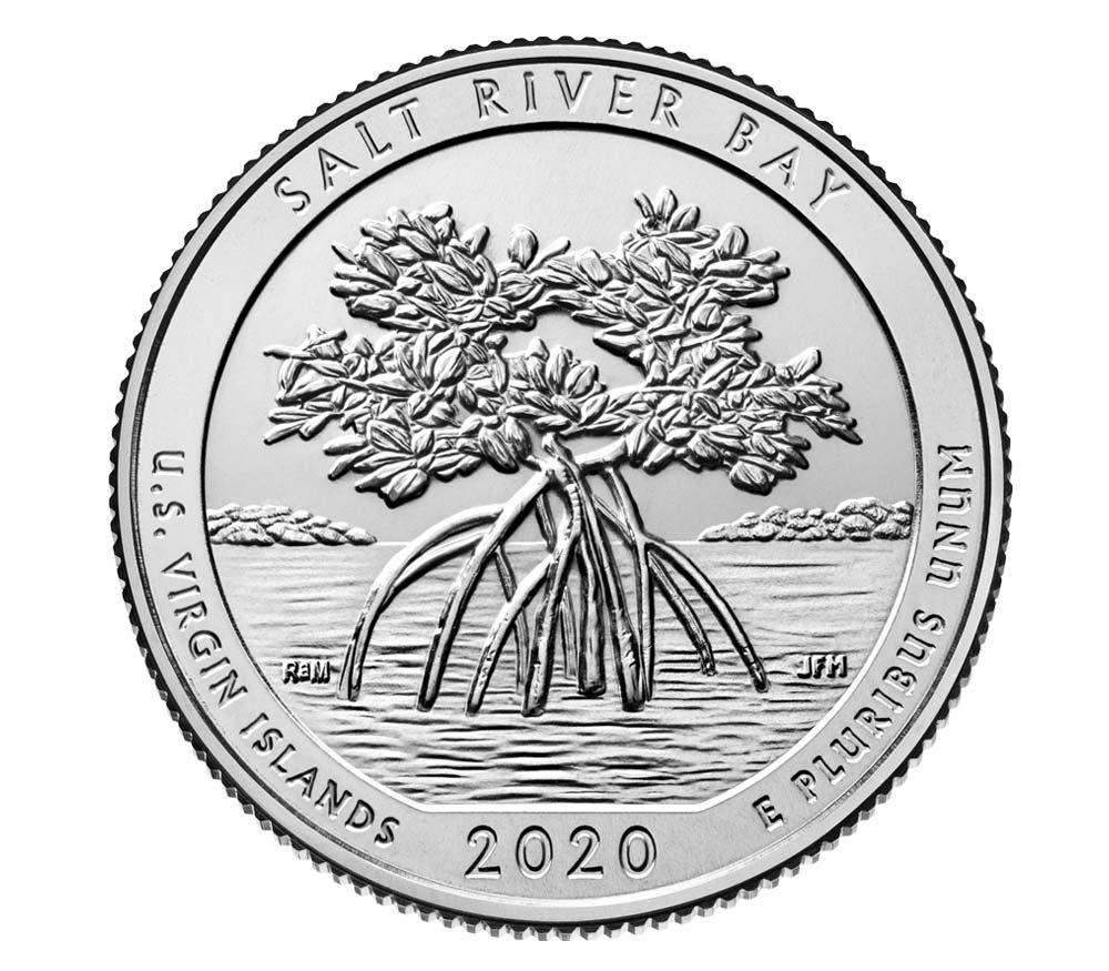 US 1/4 Dollar - Quarter 2020 P