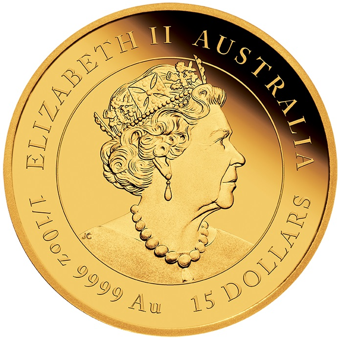 AU 15 Dollars 2020 P