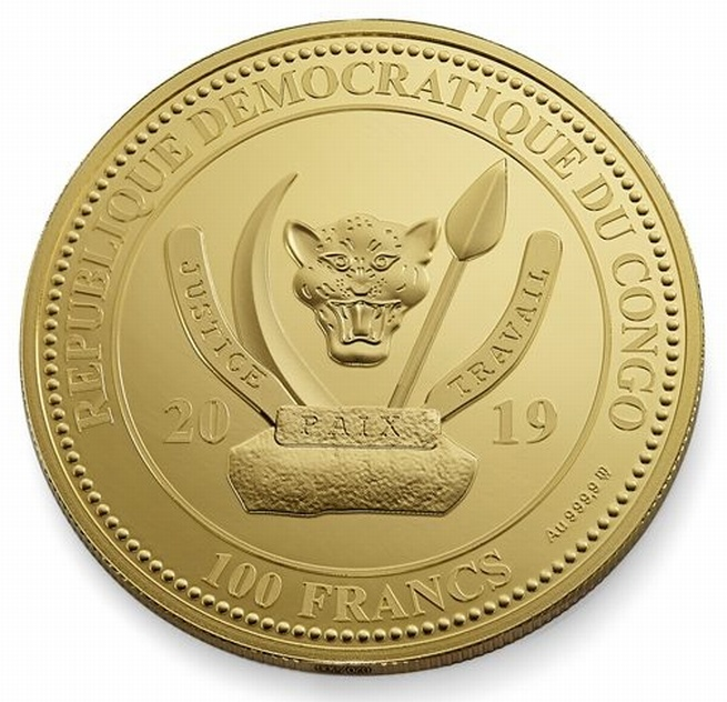 CD 100 Francs 2019 MW