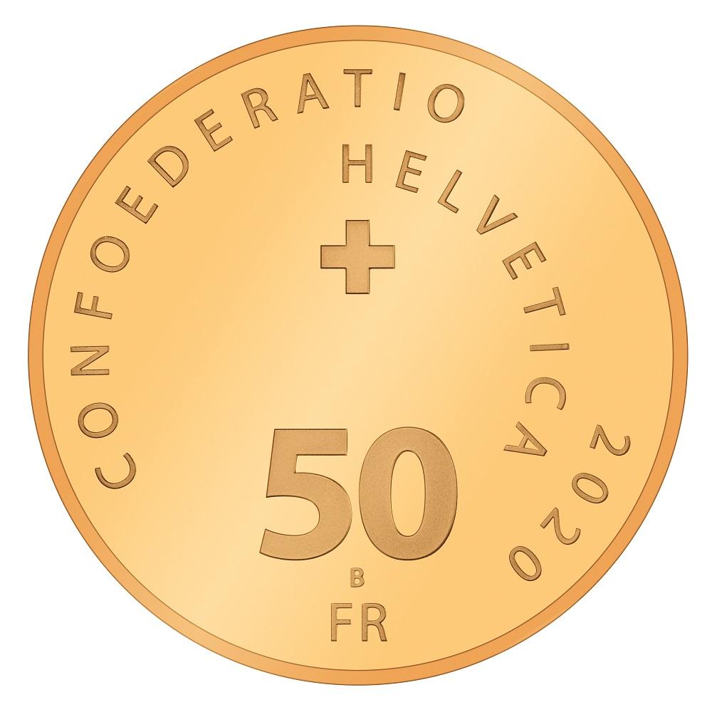 CH 50 Franken 2020 B