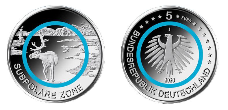 DE 5 Euro 2020 D