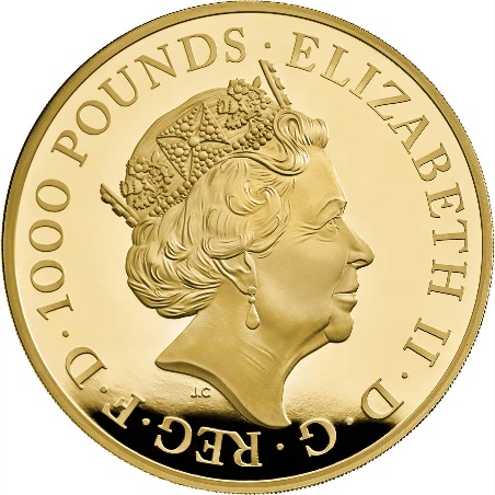 GB 1000 Pounds 2021