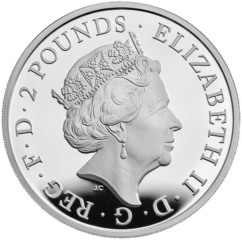 GB 2 Pounds 2021