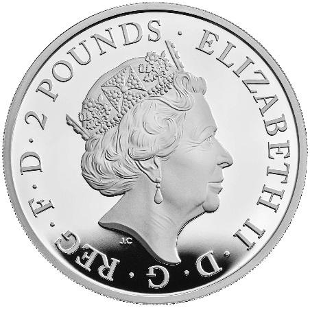 GB 500 Pounds 2021
